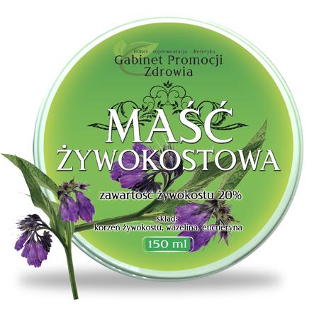 Maść Żywokostowa - 150 ml (1)