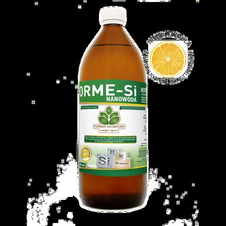 Krzem organiczny LEMON NANOWODA z borem, stężonymi mikroelementami z soli oraz olejkiem cytrynowym. (1)